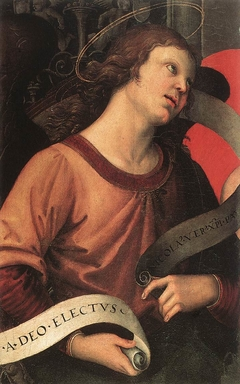 Angel Holding a Phylactery