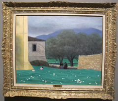Landscape in Vence