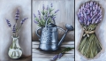 Lavender Triptych