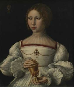 Portrait of a young lady as Mary Magdalene