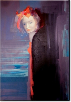 Mysterious Woman 2, year 2012 by Anna Zygmunt