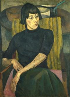 Portrait of Nina Hamnett