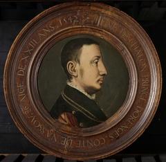 Portrait of René de Châlon, Prince of Orange