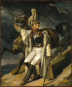 The Wounded Cuirassier, study