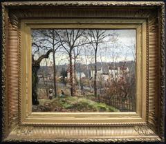 Winter Landscape at Louveciennes