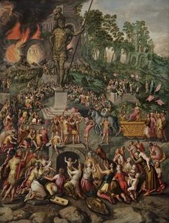 Worship of the Statue of Nebuchadnezzar