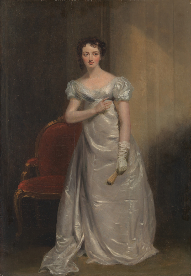 "Harriet Smithson as Miss Dorillon, in ""Wives as They Were, and Maids as They Are"" by Elizabeth Inchbald"