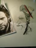 Drawing Hugh - Wolverine by Christos Tziortzis Tattoo Artist