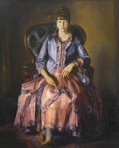 Emma in a Purple Dress