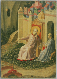 The Papacy Offered to Saint Gregory the Great [?]