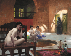 Women at the The Bath