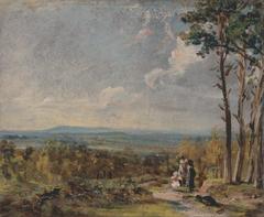 Hampstead Heath Looking Towards Harrow