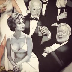 Sophia Loren, Pablo Picasso, Ernest Hemingway