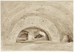Zogenaamde Stallen van Maecenas te Tivoli