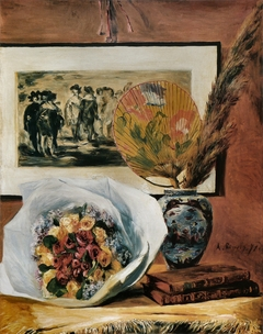Still Life with Bouquet and Fan