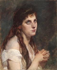 Girl with Folded Hands
