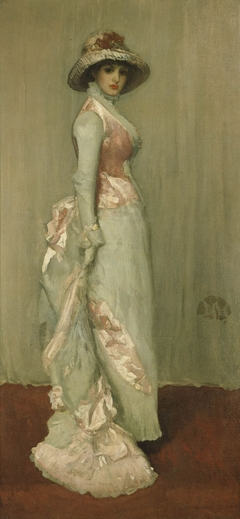 Harmony in Pink and Grey: Portrait of Lady Meux