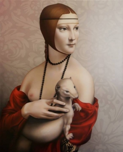 Lady with an Ermine, lover