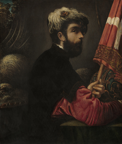 Portrait of a Man as Saint George