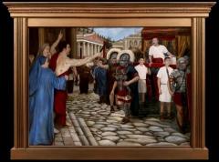 St. Sebastian Confronts the Emperor Diocletian