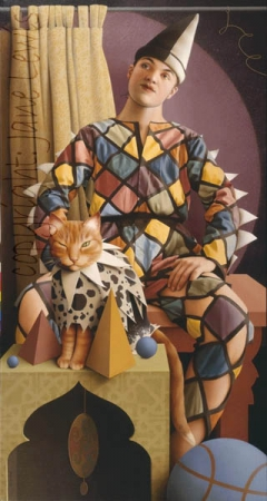 THE HARLEQUIN'S CAT